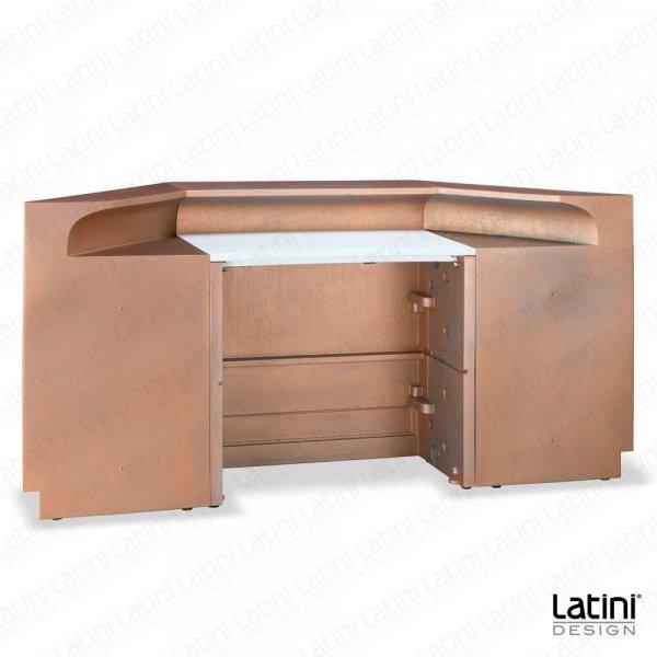 Bar Desk Austin Rame Ossidato