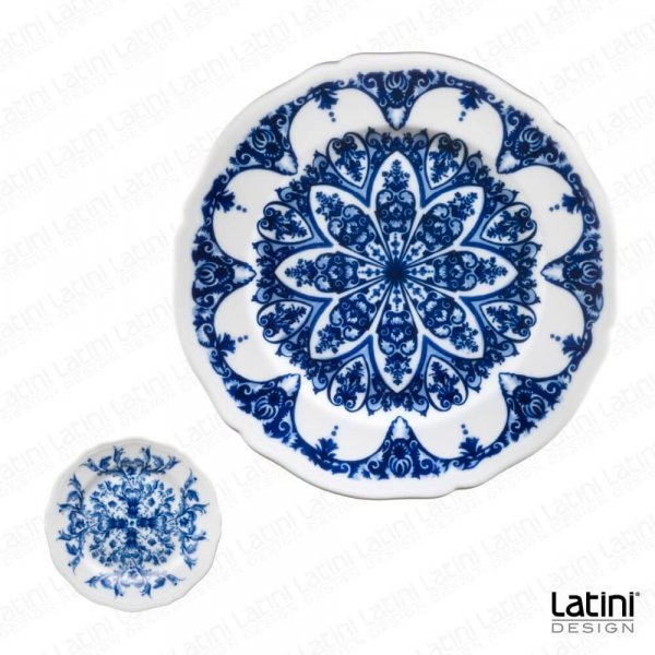 Sottopiatto Babele Blue Flowers