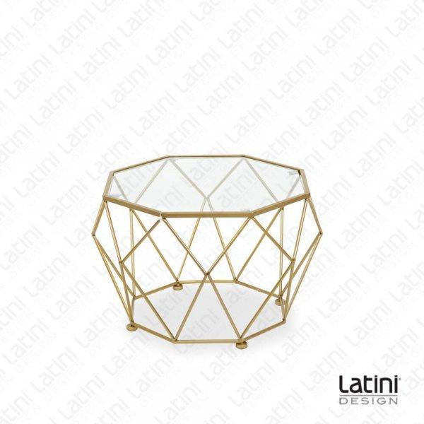 Tavolo Lounge Diamond Gold L