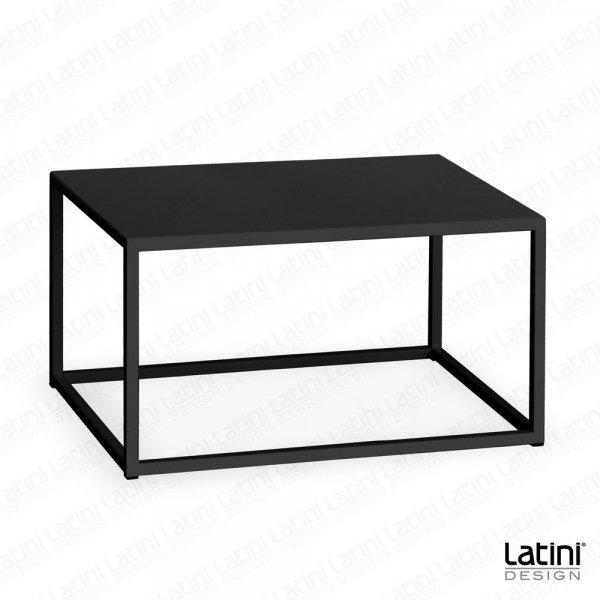 Tavolo Lounge Metallic Black Rettangolare
