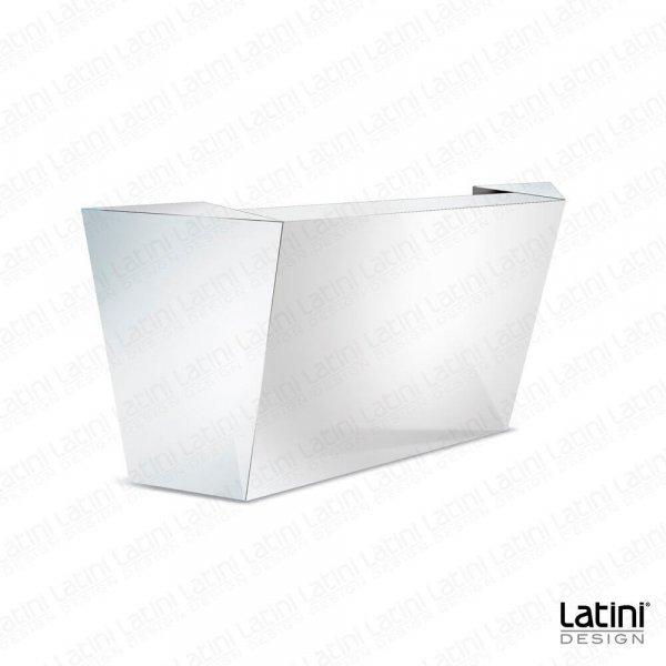 Bar Desk Reflect Silver