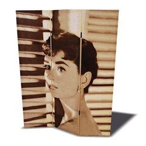 Separé con stampa Audrey Hepburn