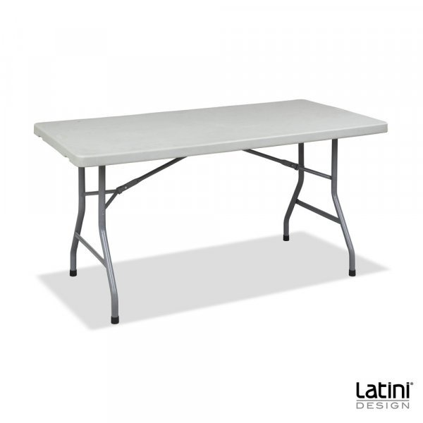 Tavolo in resina rettangolare 152x76 cm