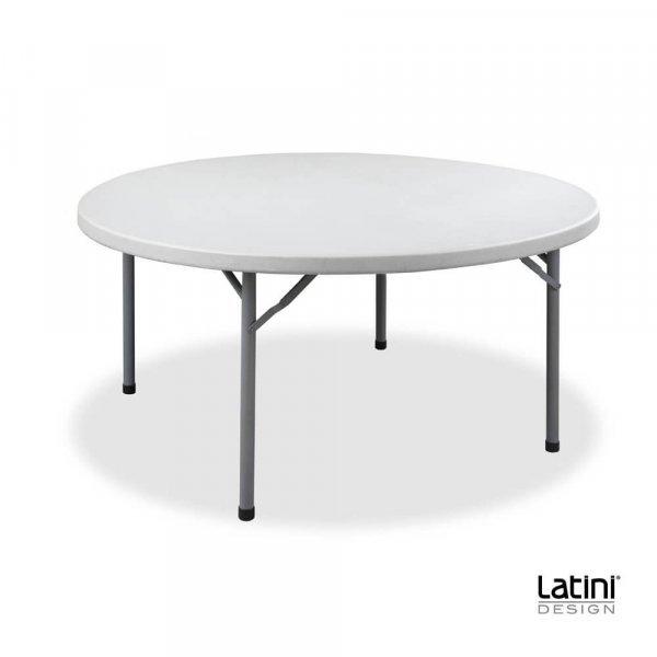 Tavolo tondo in resina ø 120 cm