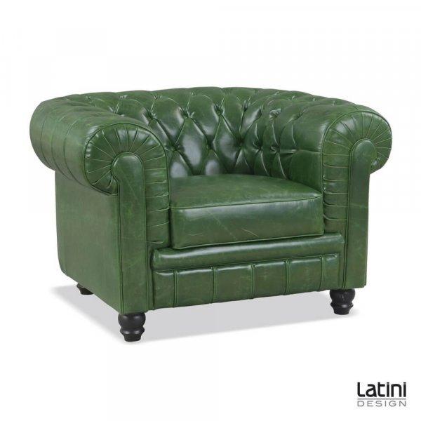 Salotto Chesterfield Vintage Green