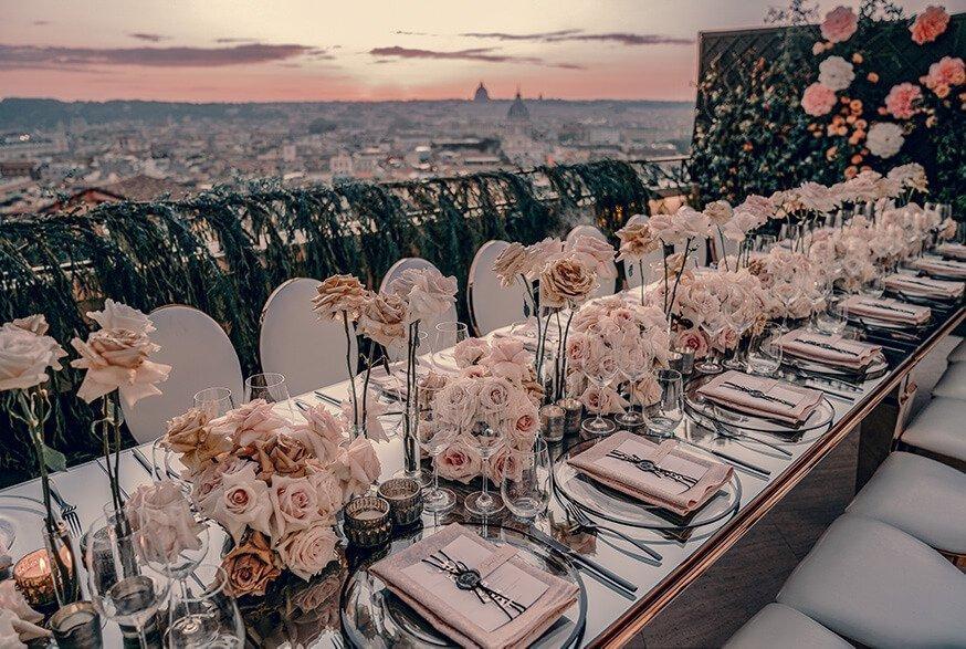 latini design drew jacqueline rome italy wedding